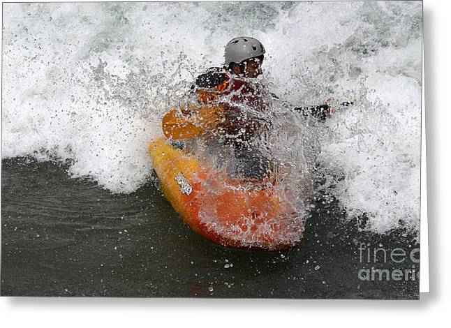 Canada Sports Greeting Cards - Wet Wet Wet Greeting Card by Bob Christopher