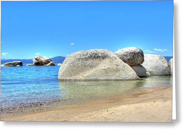Whale Beach Greeting Cards - Whale Beach North Lake Tahoe Greeting Card by Brad Scott
