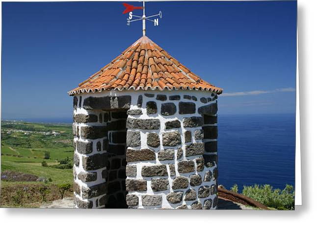 Whale lookout spot Greeting Card by Gaspar Avila