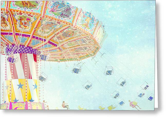Large Prints Greeting Cards - What a Ride Greeting Card by Amy Tyler