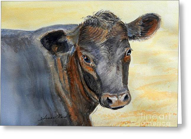 What Color Cocoa Greeting Card by Susan  Clark