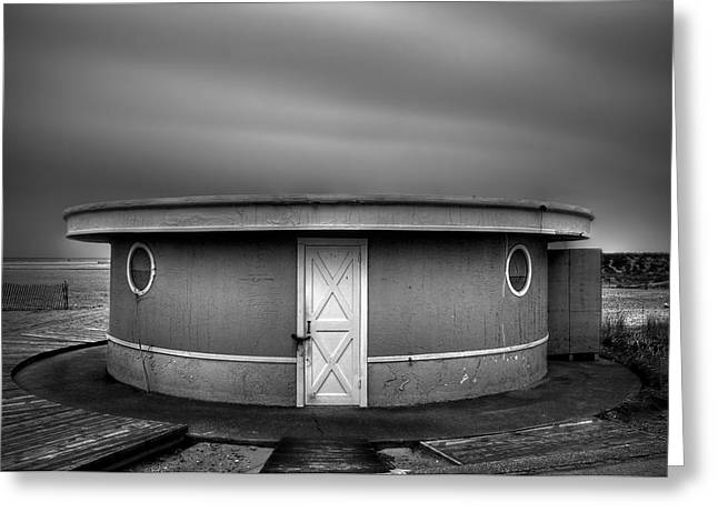 Shack Photographs Greeting Cards - What Goes Round Comes Round Greeting Card by Evelina Kremsdorf