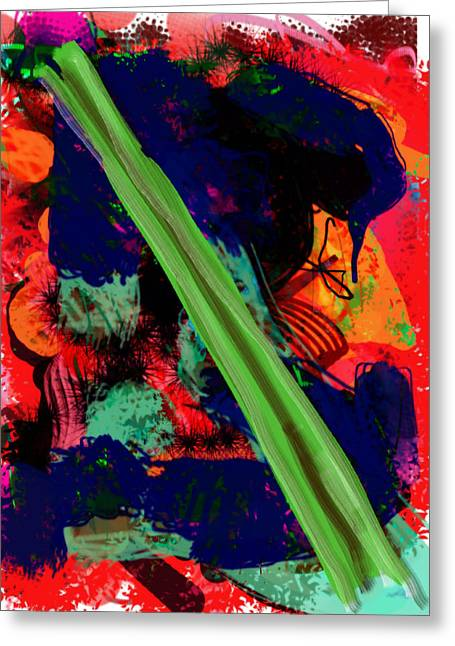 What Is Celery Greeting Card by James Thomas