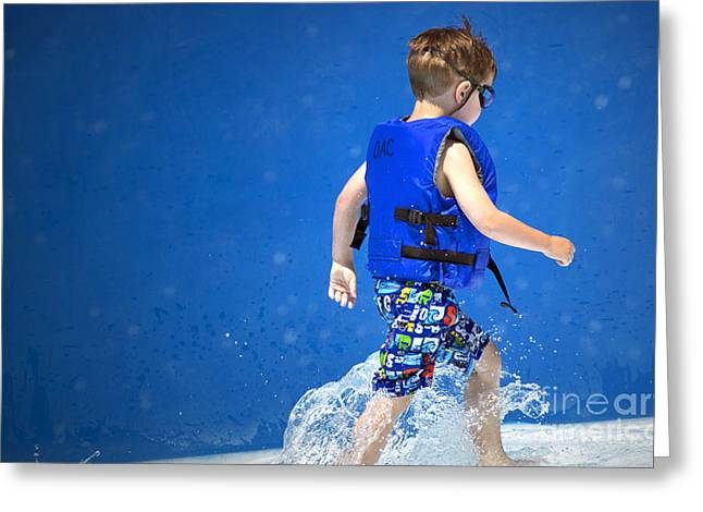Pool Life Greeting Cards - What Life Is All About Greeting Card by Gwyn Newcombe