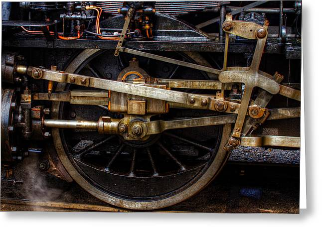 Mechanism Photographs Greeting Cards - Wheel Greeting Card by Gert Lavsen