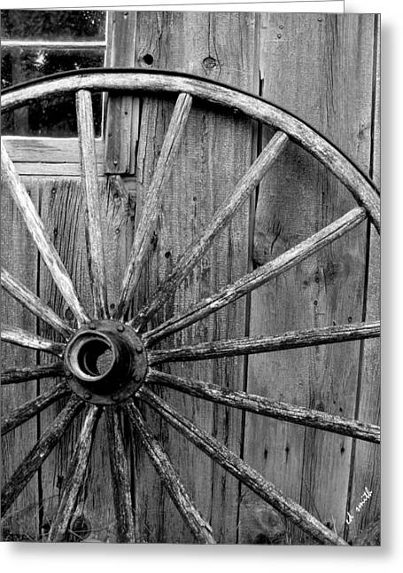 Amish Farms Greeting Cards - Wheel of Fortune Greeting Card by Ed Smith