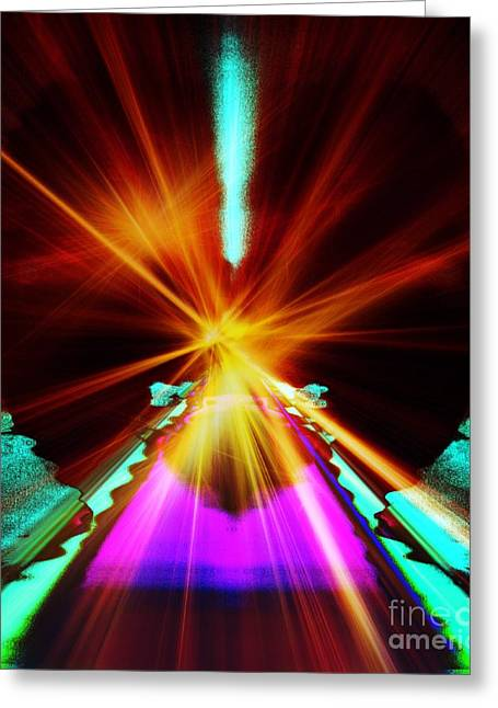 Moments Of Power Greeting Cards - When a Prayer Goes Up Greeting Card by Fania Simon