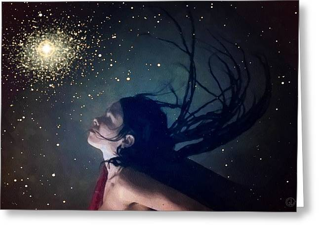 Wishes Greeting Cards - When you wish upon a star Greeting Card by Gun Legler