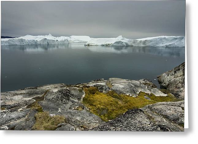 Greenland Greeting Cards - Where Giants are Born Greeting Card by Robert Lacy