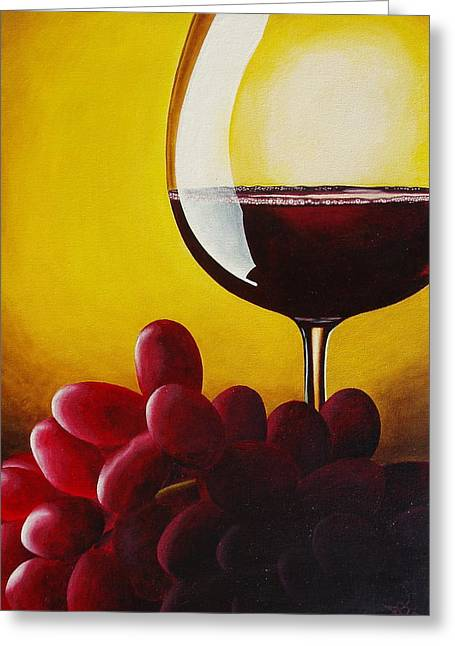 Glass Reflecting Paintings Greeting Cards - Wheres the Cheese Greeting Card by David George