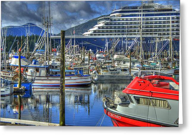 Boat Cruise Greeting Cards - Which One Is Mine Greeting Card by Jon Berghoff