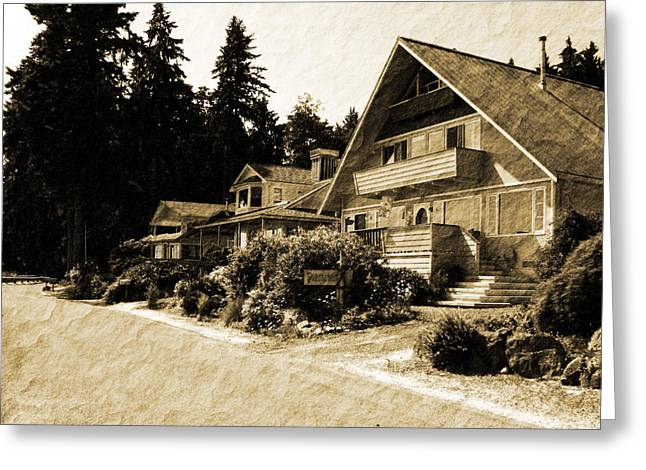Whidbey Island Wa Greeting Cards - Whidbey West Side Greeting Card by Barry Jones