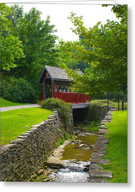 Kentucky Greeting Cards - Whiskey Creek Greeting Card by Wayne Stacy