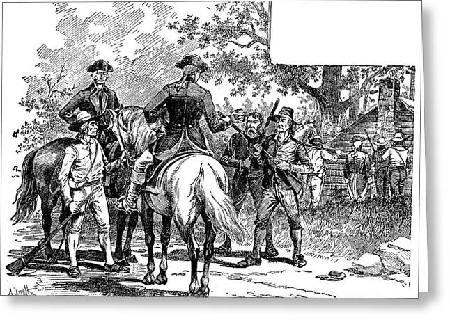 1794 Greeting Cards - Whiskey Rebellion, 1794 Greeting Card by Granger