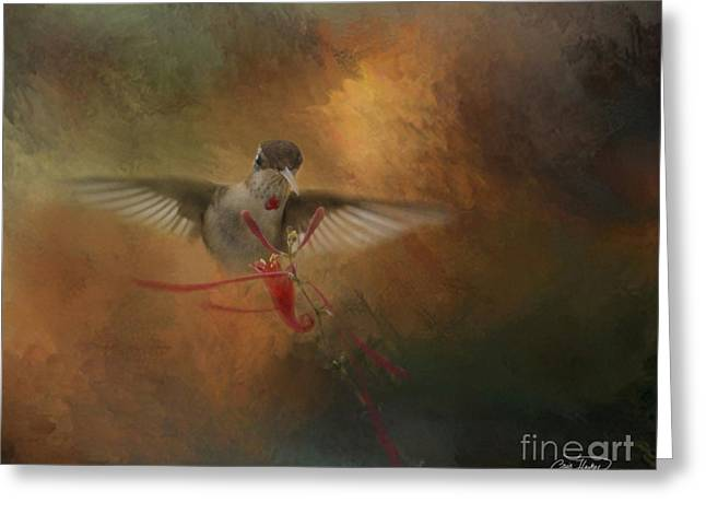 Cris Hayes Greeting Cards - Whisper Greeting Card by Cris Hayes