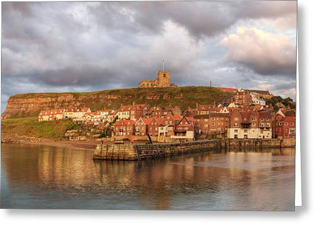 St. Martins Greeting Cards - Whitby Harbour Greeting Card by Martin Williams
