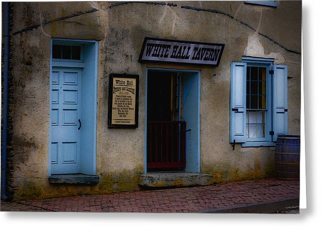 Harpers Ferry Digital Greeting Cards - White Hall Tavern Greeting Card by Ron Jones