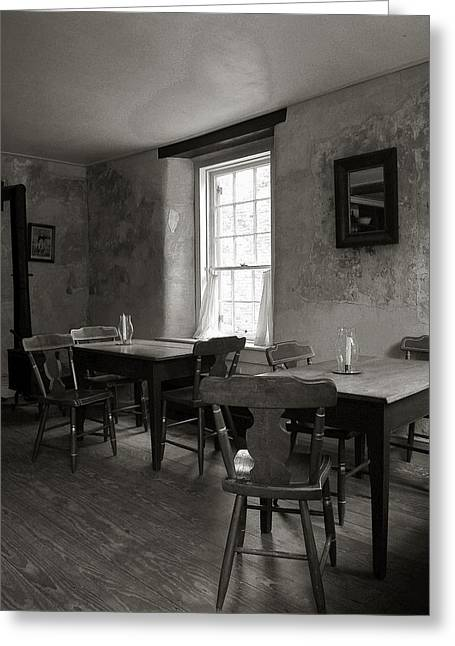 Historical Photographs Greeting Cards - White Hall Tavern Greeting Card by Steven Ainsworth
