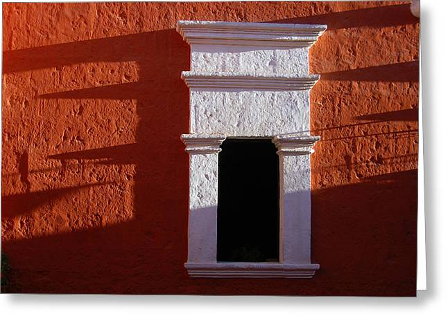 White window Greeting Card by RicardMN Photography