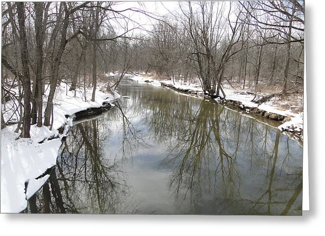 Whiteman Greeting Cards - Whitemans Creek Greeting Card by Bruce Ritchie