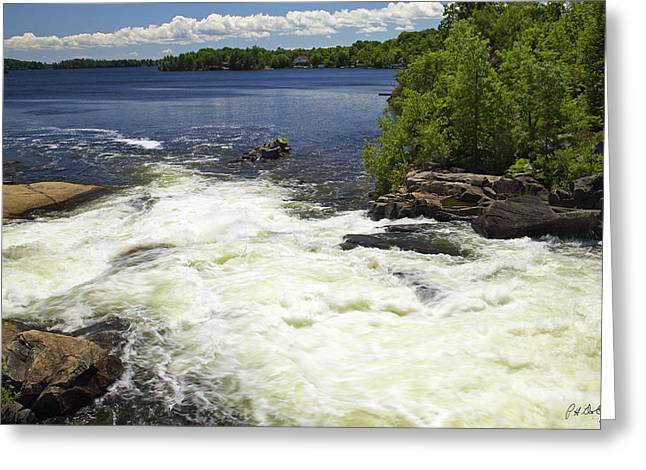 Canada Greeting Cards - Whites Falls Greeting Card by Phill  Doherty