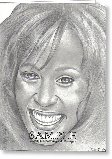 Refurbished Photos Drawings Greeting Cards - Whitney Greeting Card by Rick Hill