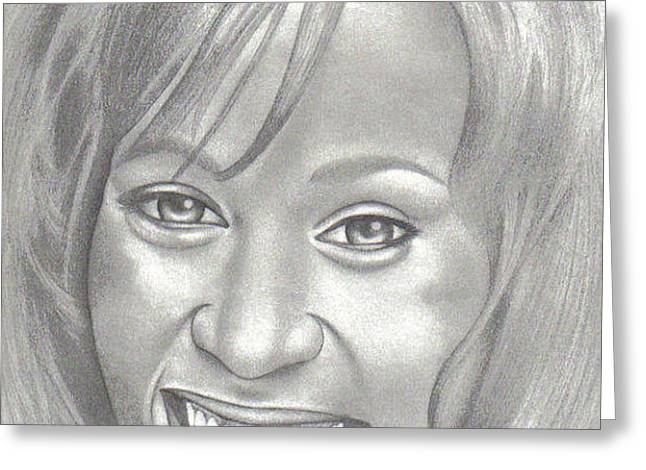 WHITNEY Greeting Card by Rick Hill