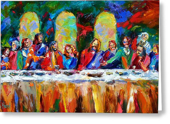 Last Greeting Cards - Who Among Us Greeting Card by Debra Hurd