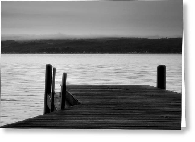 Keuka Greeting Cards - Wide Waters Greeting Card by Steven Ainsworth