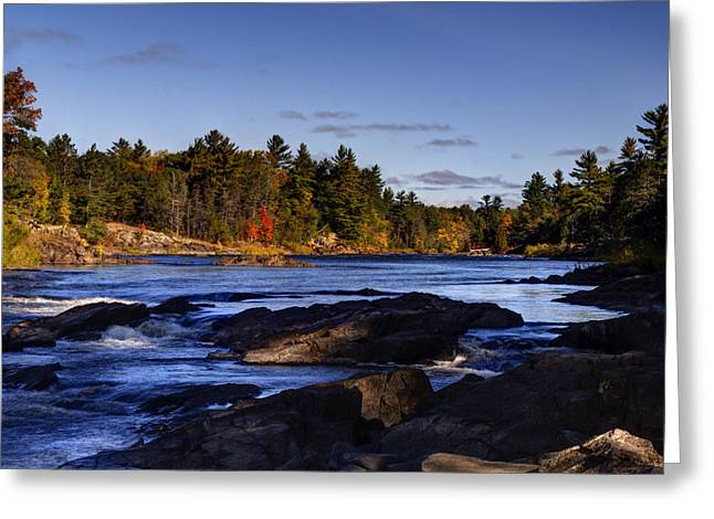 Thomas Young Photography Greeting Cards - Wild and Scenic Menominee River Greeting Card by Thomas Young