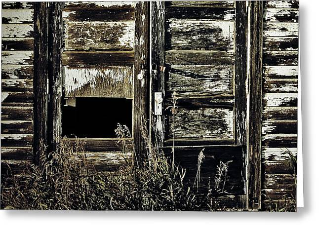 Wild Doors Greeting Card by Jerry Cordeiro