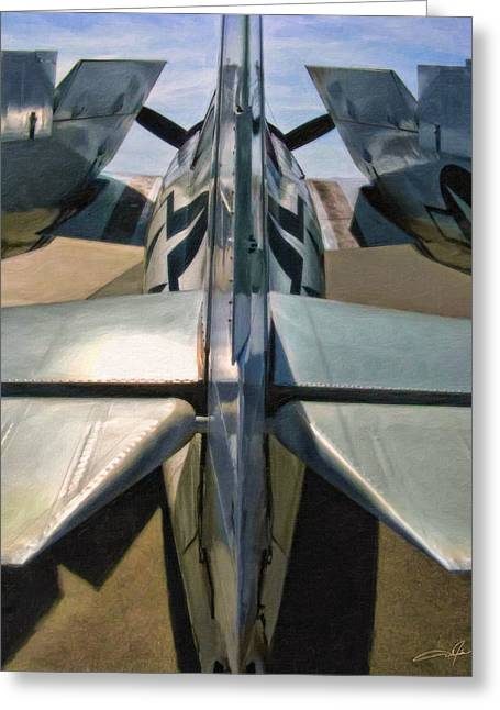 Planes Of Fame Greeting Cards - Wildcat Greeting Card by Dale Jackson