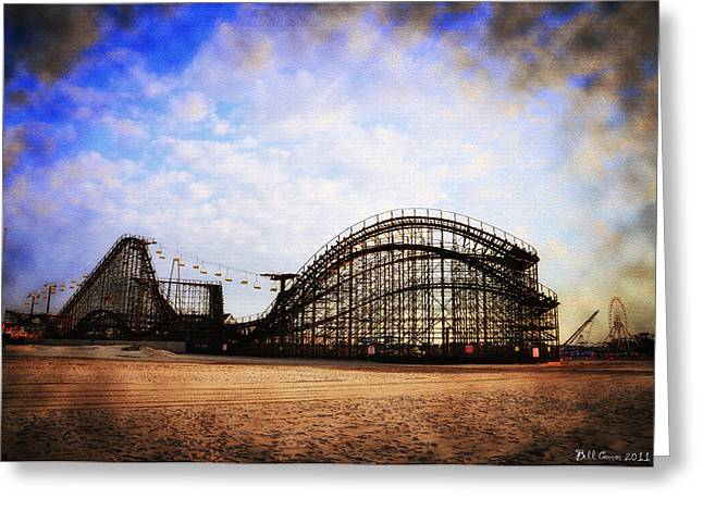 Wildwood Greeting Cards - Wildwood New Jersey Greeting Card by Bill Cannon