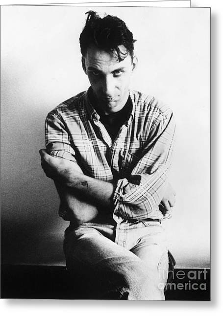 Columnist Greeting Cards - Will Self (1961- ) Greeting Card by Granger