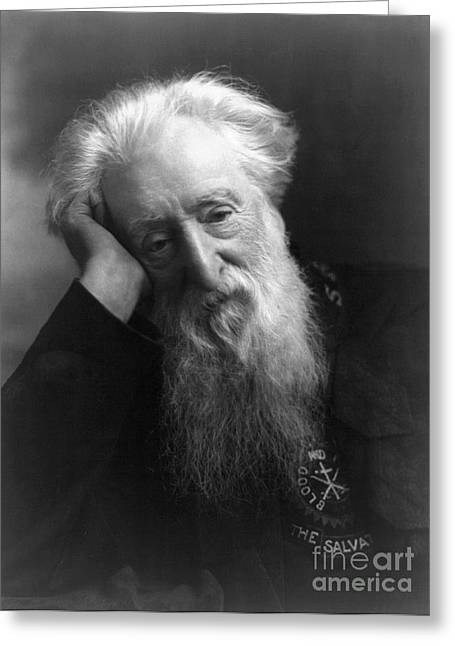 """salvation Army"" Greeting Cards - William Booth (1829-1912) Greeting Card by Granger"