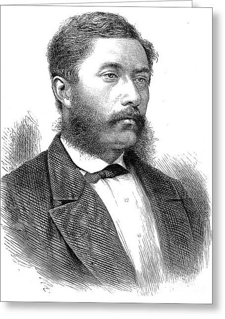 William C. Lunalilo Greeting Card by Granger