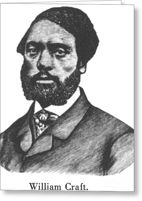 Abolition Greeting Cards - William Craft Greeting Card by Granger
