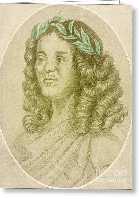 D.w. Greeting Cards - William Davenant, English Poet Laureate Greeting Card by Photo Researchers