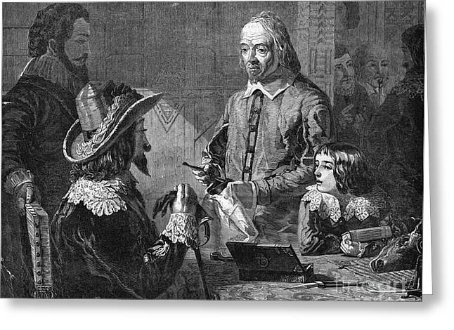Fertilization Greeting Cards - William Harvey, English Physician Greeting Card by Photo Researchers