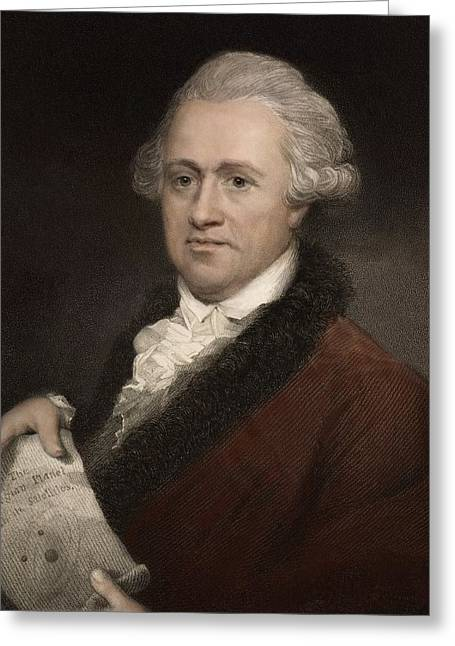 Binary Stars Greeting Cards - William Herschel, Astronomer Greeting Card by Paul D Stewart