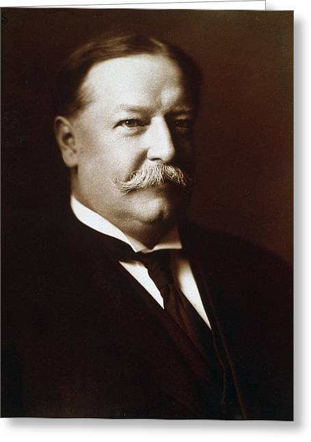 Taft Greeting Cards - William Howard Taft - President of the United States Greeting Card by International  Images