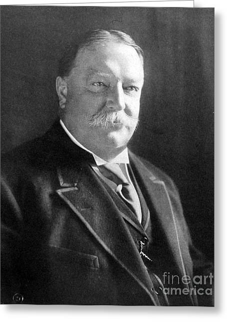 Reform Greeting Cards - William Howard Taft, 27th American Greeting Card by Science Source
