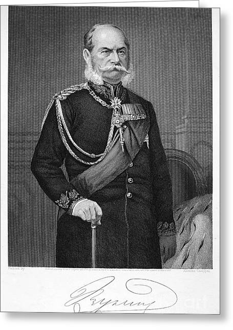 William I Of Prussia Greeting Card by Granger