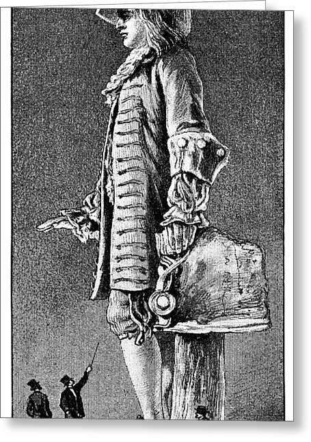 William Penn Greeting Cards - William Penn Statue, 19th Century Greeting Card by