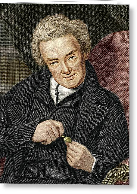 Abolition Movement Photographs Greeting Cards - William Wilberforce, British Politician Greeting Card by Sheila Terry