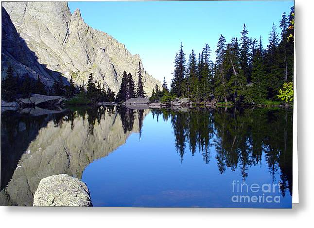 Willow Lake Greeting Cards - Willow Lake Afternoon Greeting Card by Scotts Scapes
