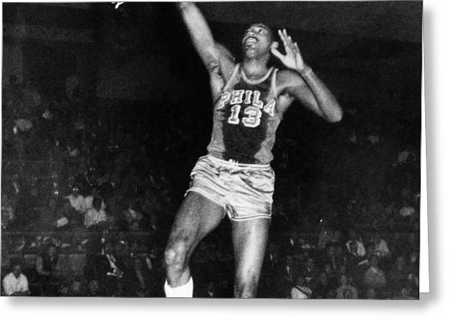 WILT CHAMBERLAIN (1936-1996) Greeting Card by Granger