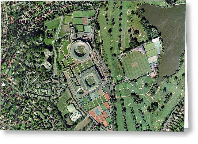 Wimbledon Greeting Cards - Wimbledon Tennis Complex, Uk Greeting Card by Getmapping Plc