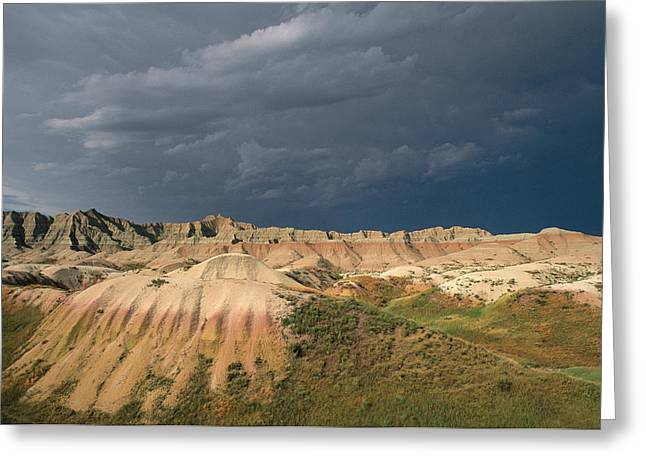 Geological Formations Greeting Cards - Wind And Water Erosion Carve Greeting Card by Annie Griffiths