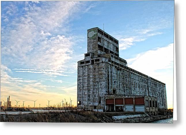 Western New York Greeting Cards - Wind and Weathering 2 Greeting Card by Peter Chilelli